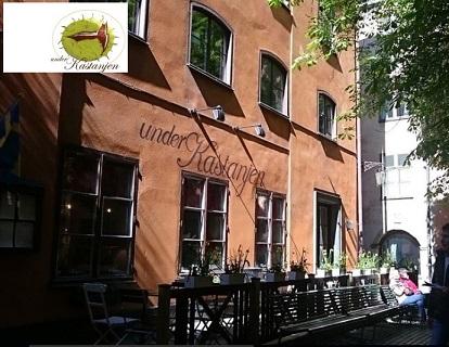 Mysig restaruang gamla stan stockholm