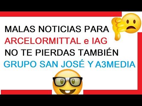ARCELORMITTAL IAG CUIDADO PELIGRO DE MAS CAIDAS, GRUPO SAN JOSÉ Y A3MEDIA