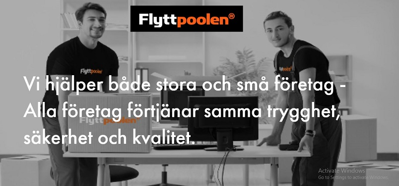 Företagsflytt Stockholm