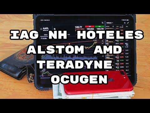 Video Análisis con Alberto García Sesma: IAG, NH Hotels, Alstom, AMD, Teradyne, Ocugen