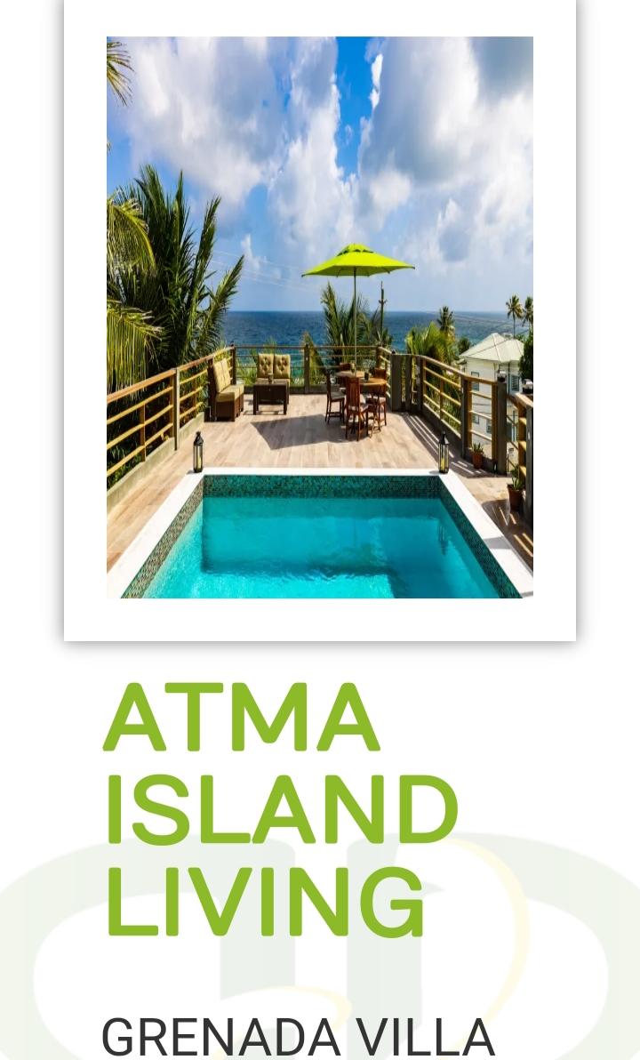 BOOK YOUR NEXT GETAWAY @ATMA ISLAND LIVING