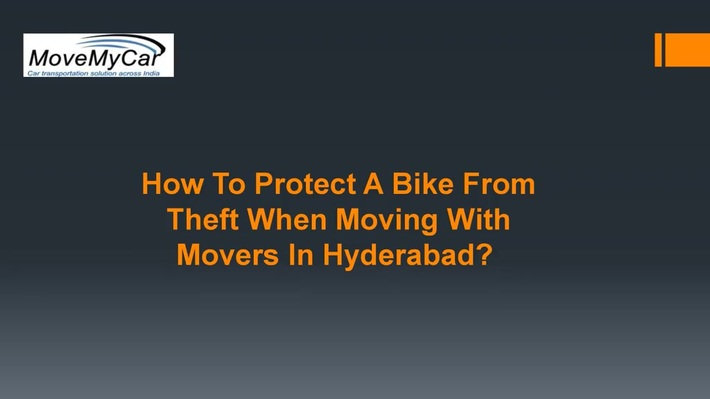 We Provide The Best Bike Packer and Movers Services in Hyderabad