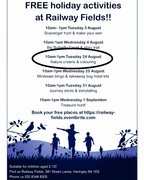 Summer Holidays at Railway Fields: Nature Crowns and Colouring #free