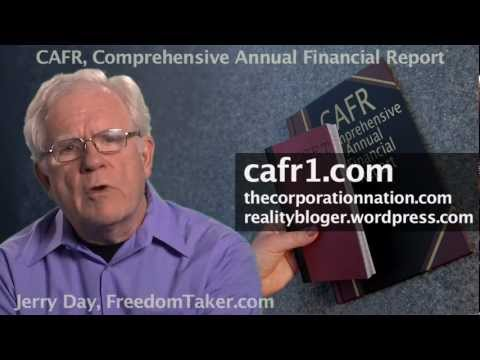 The CAFR Swindle - The Biggest Game In Town