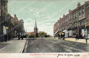 Jolly Butcher's Hill (colourised) c 1905