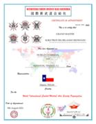 Intl. Post Certificate of W.I.C.M.A.S.