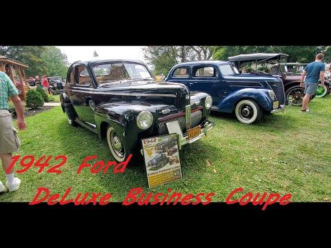 1942 Ford DeLuxe Business Coupe ( at the 2021 Das Awkscht Fescht )