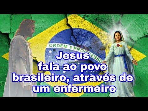 Jesus fala ao povo brasileiro 30/07/2021