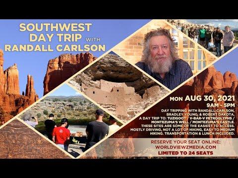 Randall Carlson in Sedona Southwest Day Trip Mon. August 30th, 2021 9am-5pm