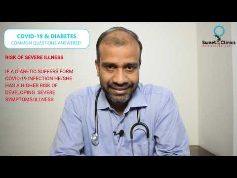 3 Common Questions Asked By Diabetics On Covid-19 Answered By Diabetologist Kharghar Dr.Vinod Methil