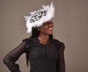 Dewdrop African print Hat. by Prosperelle
