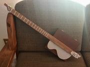 Surf & Turf 3-String Cigar Box Guitar