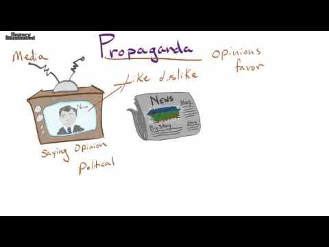 Propaganda Definition for Kids
