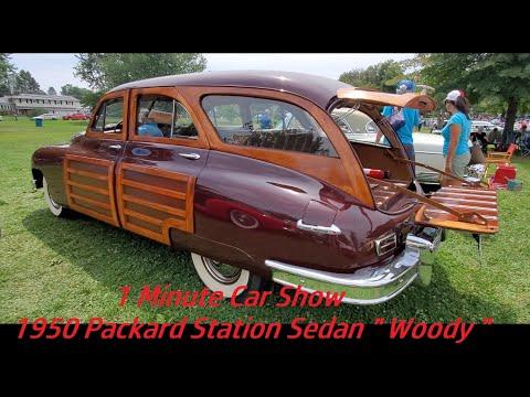 1 Minute Car Show 1950 Packard Station Sedan