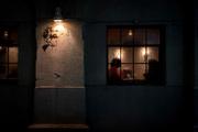 Night coffee shop