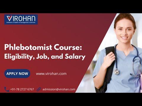 Phlebotomist Course Eligibility, Job & Salary