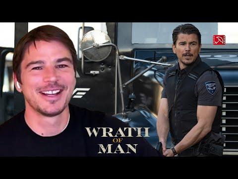 Harrison Ford gave Josh Hartnett a hard time WRATH OF MAN interview | CASH TRUCK, Lionsgate