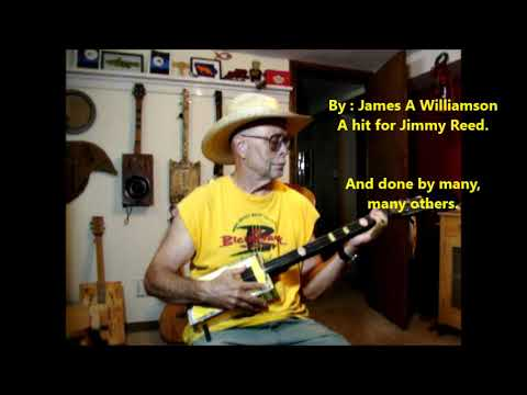 Big Boss Man ~ Demo of Ratty Yellow -cover of a Jimmy Reed hit written by James A. Williamson