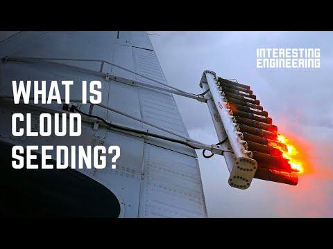How artificial rain works