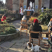 Open Air Eucharist this Sunday afternoon