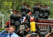 Veteran Melbourne Fire Fighters Funeral