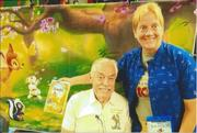 with Donnie Dunagan {Bambi} Aug. 22, 2021 at FanBoy Expo Orland