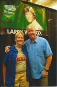 with Larry Wilcox on Aug. 22, 2021 at FanBoy Expo Orlando.