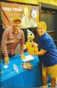with Bret Iwan {Mickey Mouse} Aug. 22, 2021 at FanBoy Expo Orla