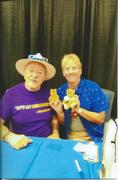 with Jim Cummings on Aug. 22, 2021 at FanBoy Expo Orlando.