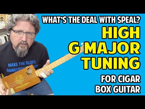 What's the Deal with Speal:  Open G Major Tuning Sounds Like Muddy Waters
