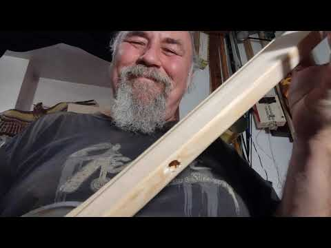 Fly Wheel Diddley Bow Slide Guitar
