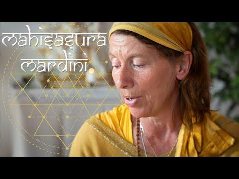 Mahishasura Mardini Stotram - Vani Devi - Yoga Vidya Ashram Bad Meinberg
