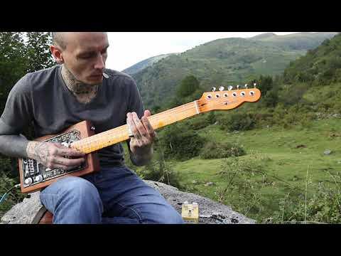 Gary O'Slide - Cigar box guitar relaxing song