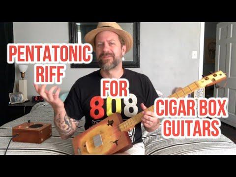 An Easy Pentatonic Riff for 3-string CBGs