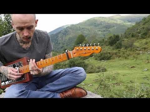 Gary O'Slide - Western song cigar box guitar