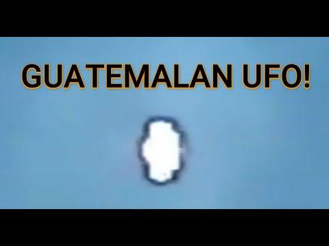 UFO with Dark Energy Field over Rio Bravo Guatemala