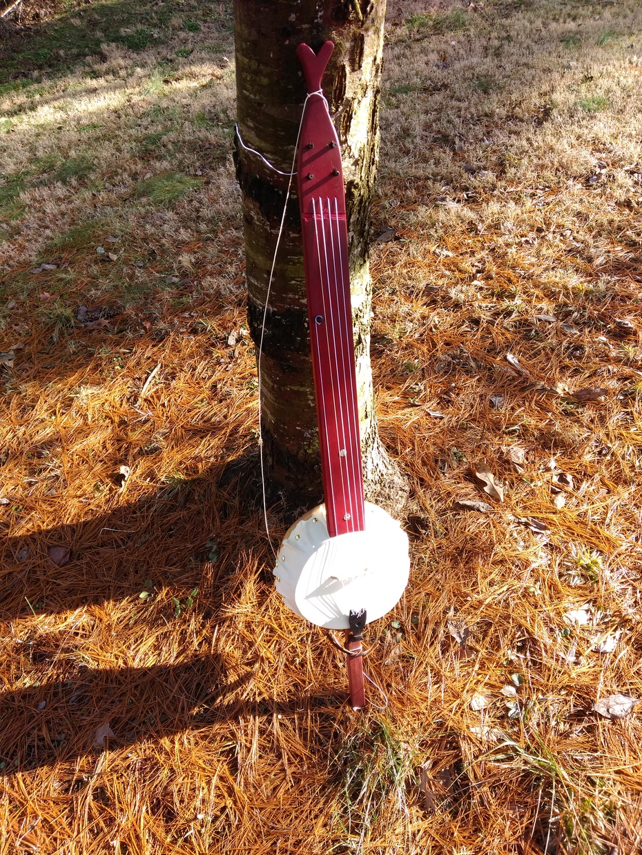 Gourd banjo #2 finished.