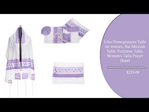 Transition from Traditional Tallit for Women into a Fashionable Garment