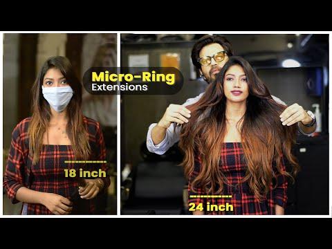 Micro-ring Hair Extensions | Permanent Hair Extensions In Mumbai
