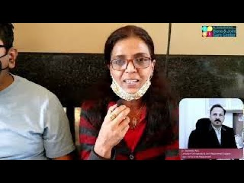 Mr. Sanjiv Jain Happy After HIP REPLACEMENT SURGERY in Mulund | Hip Replacement Surgeon Dahisar, Mulund India