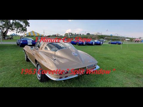 1 Minute Car Show 1963 Corvette Split Window At the 2021 Corvettes At Carlisle
