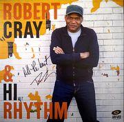 Robert Cray & Hi Rhythm signed LP