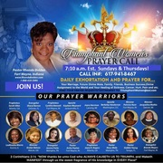 Time and Days updated Triumphant Women Prayer Call Flyer