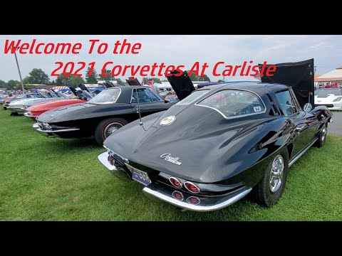 Welcome To 2021 Corvettes At Carlisle