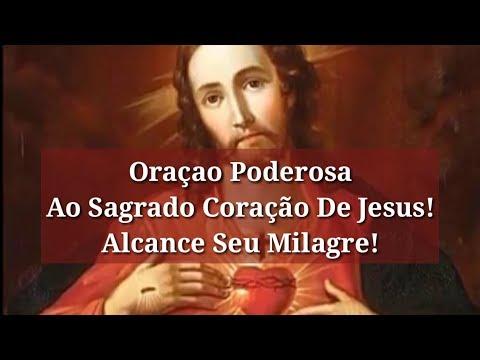 Oração Poderosa Ao Sagrado Coração de Jesus! Alcance Seu Milagre!