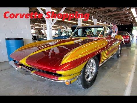 Corvette Shopping At the 2021 Corvettes At Carlisle Video 1