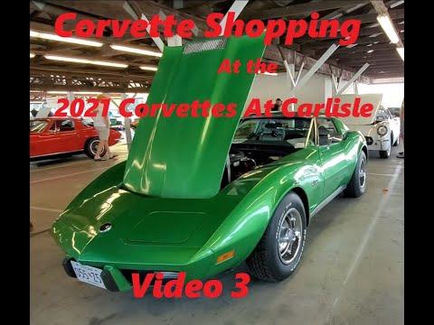 Corvette Shopping At the 2021 Corvettes At Carlisle Video 3  Bargain Vettes