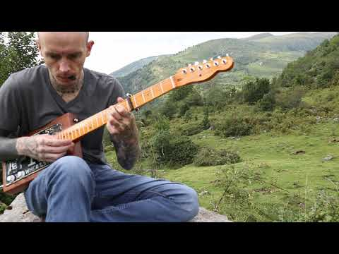 Gary O'Slide - Relaxing song cigar box guitar
