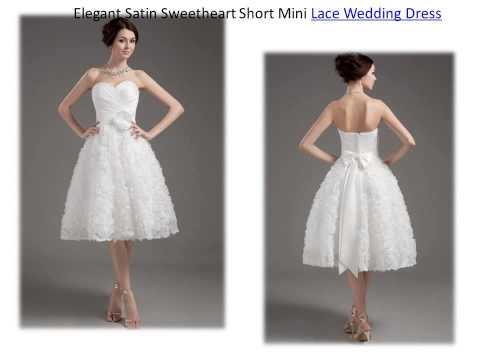 Short wedding dresses online 2015