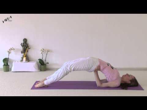 Variations of Yoga Bridge Posture
